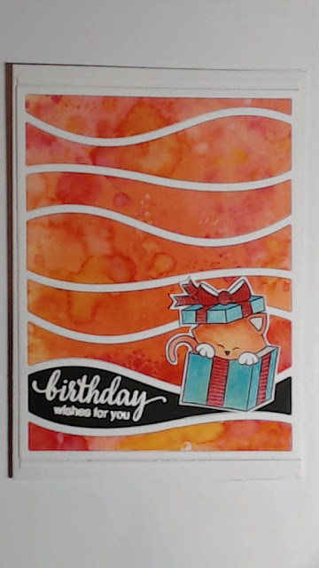 Birthday Card by Kleri featuring Newton's Nook Designs Newton's Birthday Bash #newtonsnook