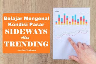 belajar mengenal kondisi market trading pasar saham forex indonesia sideways trending retrace pullback reversal berbalik siklus timing cut loss