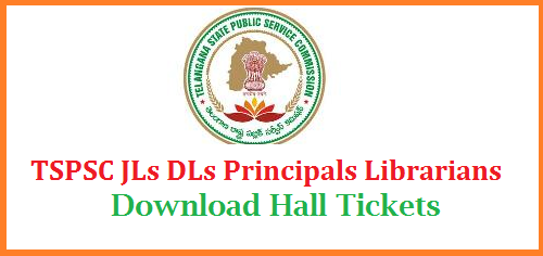 Telangana Public Service Commission Recruitment Notification for Residential Educational Society in Telangana for Junior Lecturers Degree Lecturers Librarians Examination Hall Tickets Download from TSPSC Official website http://tspsc.gov.in/halltickets | Download Admit Cards for REIS JLs DLs Principals Librarians for the Exam which is scheduled 10.09.2017 onwards in Telangana