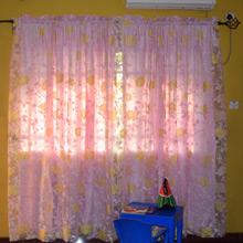 Pink Chiffon Teen Room Curtains in Port Harcourt, Nigeria