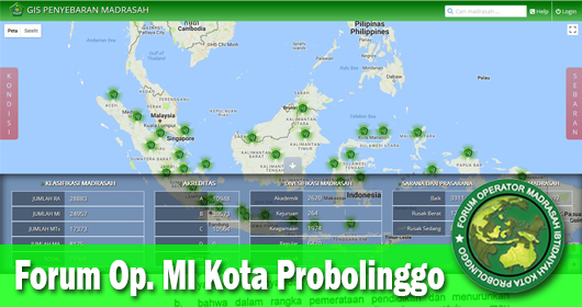 Ayo segera Update Aplikasi GIS Madrasah kita
