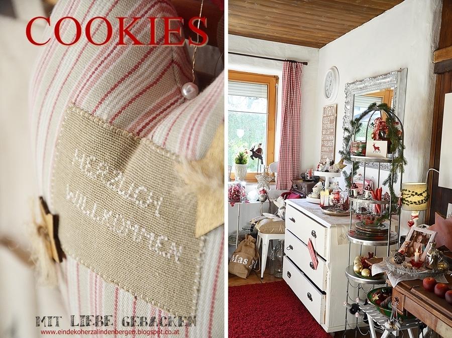 Ein dekoherzal in den bergen auf hochdeutsch: dekoherzals keksdose
