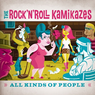 The Rock'N'Roll Kamikazes presentano il video di All Kinds of People