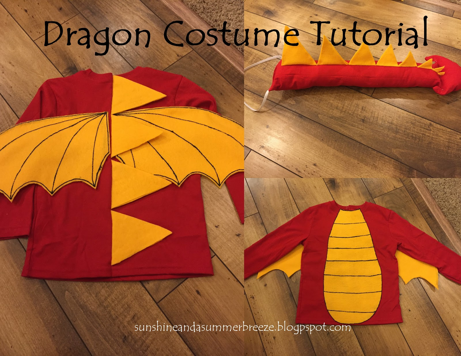 Sunshine And A Summer Breeze Dragon Costume Tutorial