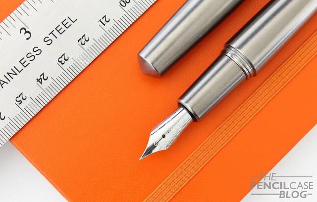 Quick look: Namisu Nova Titanium stonewashed fountain pen review