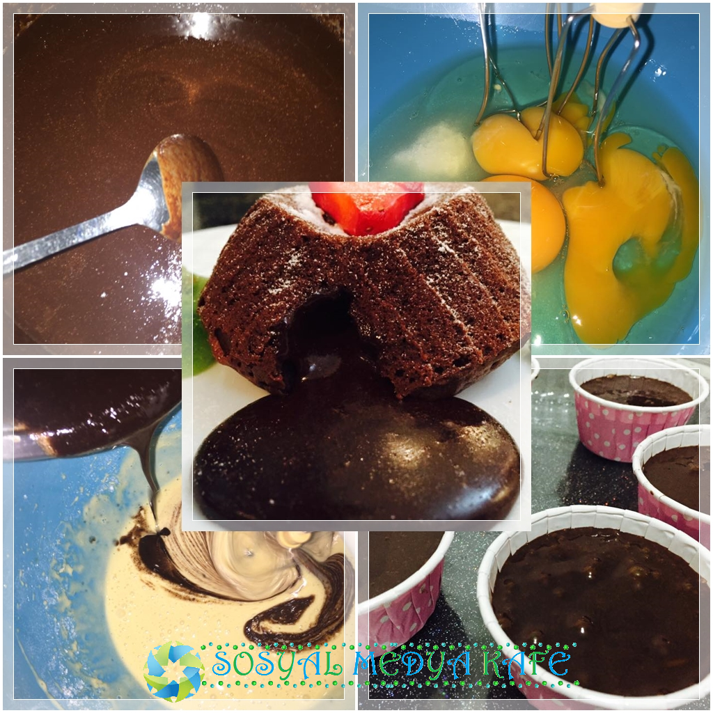 çikolatalı sufle nasıl yapılır resimli anlatım