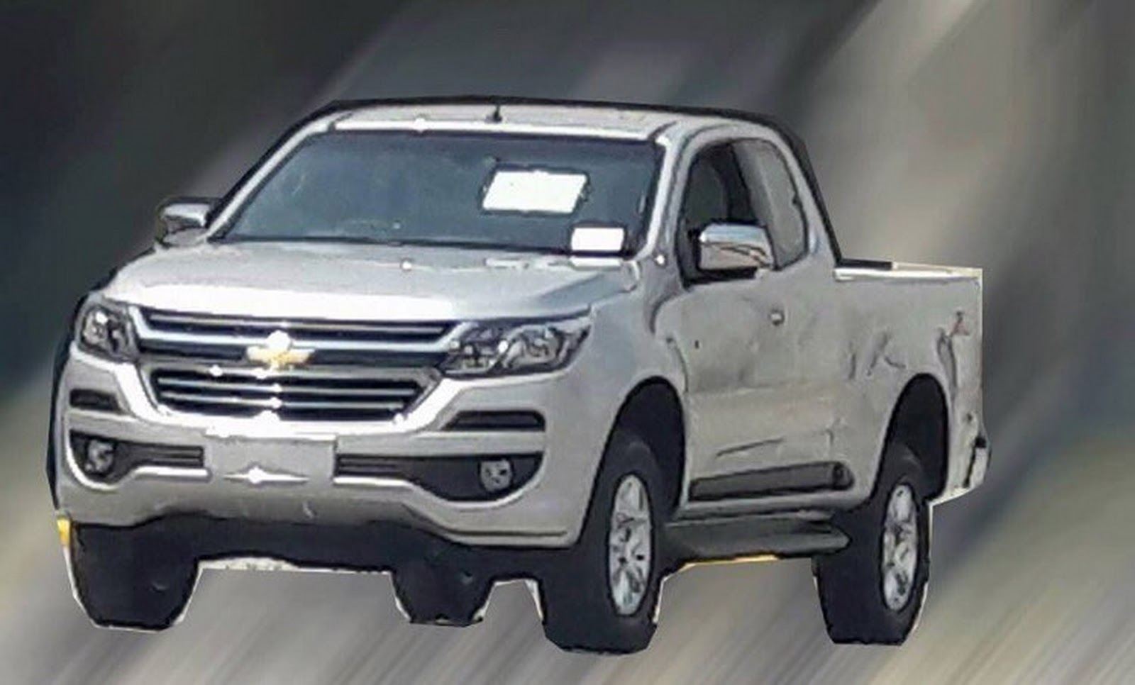 Facelifted 2017 Chevrolet S10 / Overseas Colorado Spied Undisguised | Carscoops