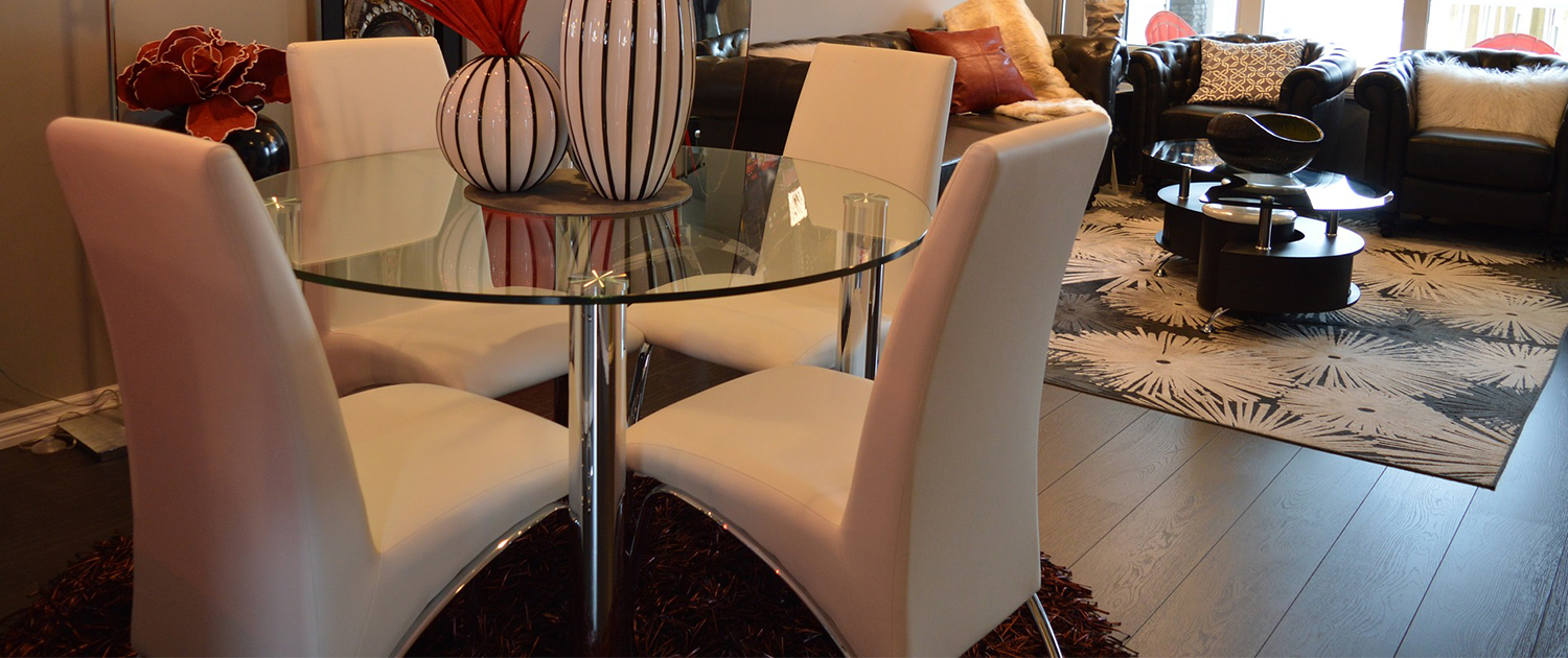 22 stylish living and dining room tables with chairs for Mostrar muebles