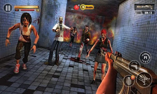 Infected House Zombie Shooter Mod Apk