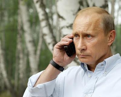 Vladimir Putin calling President of Belarus Alexander Lukashenko.