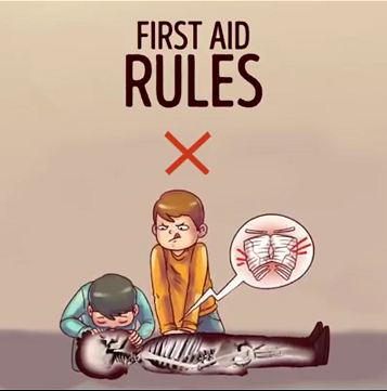 First aid is described as the immediate care given to a severely injured or ill person.  It can literally be life-saving so it's necessary to all of us to know some basic principles.