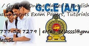 GCE O/L A/L ICT GIT Past Papers, Model paper, Notes, Syllabus for