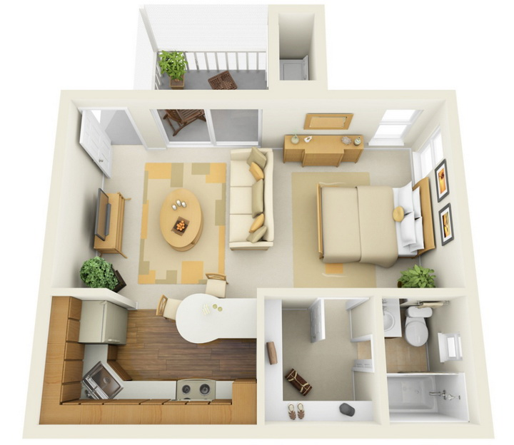 10 floor plans small spaces addiction Small condo plans