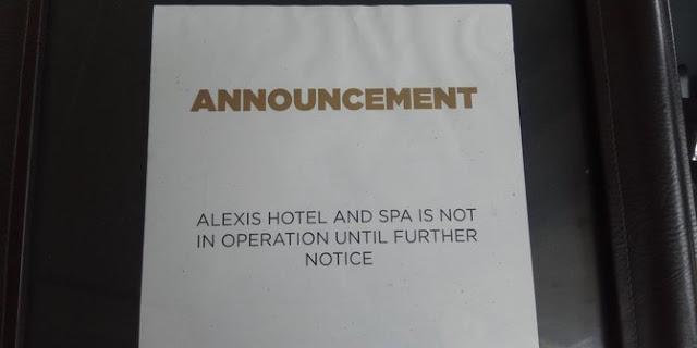 Hotel Alexis Tutup