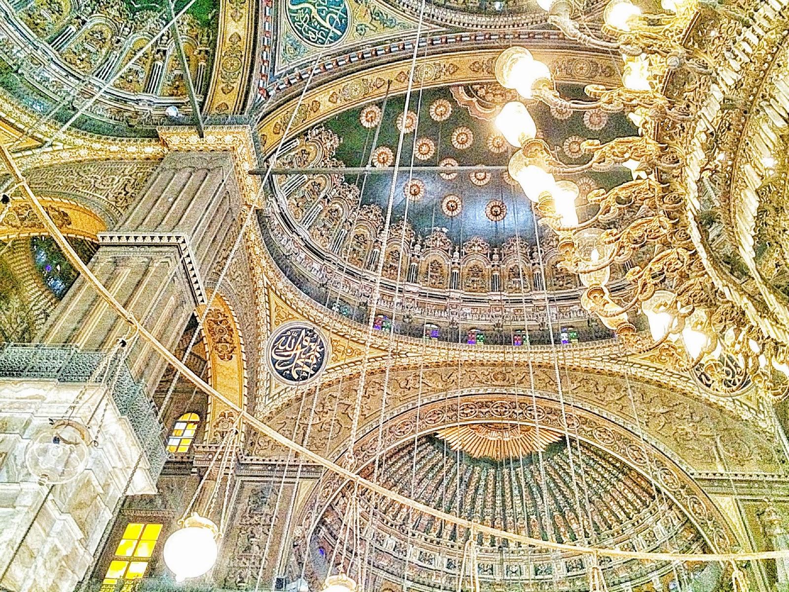 有名なエジプトのムハンマド・アリ・モスク