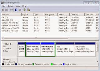 Cara Partisi Windows 7 Secara Manual Tanpa Software
