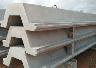 corrugated concrete sheet pile