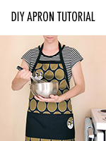 You're gonna need an apron with all that homemaking you're up to!