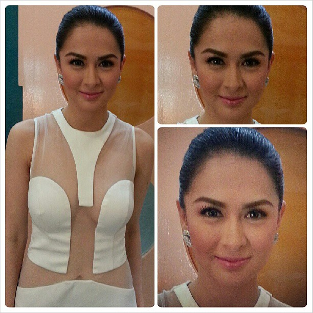 marian rivera hot see through dress 01