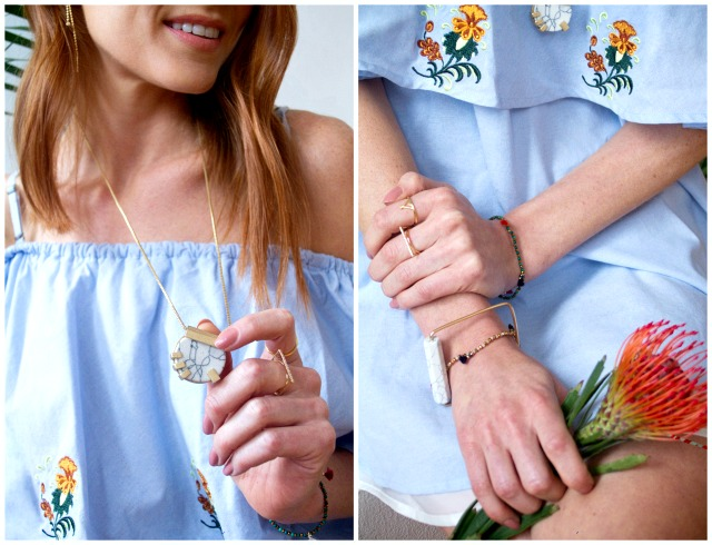 Shop for Jayu x Pastels & Pastries SS16 jewelry ; dainty rings