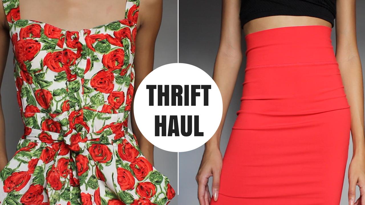 January Thrift Haul