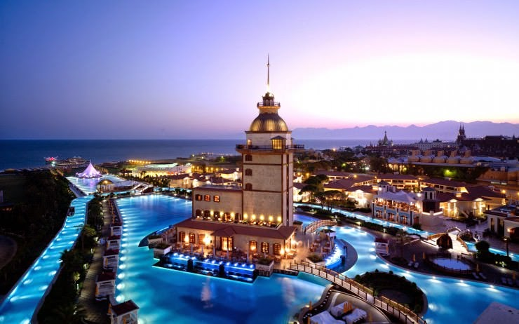 6. Mardan Palace, Antalya, Turkey - Top 10 Marvelous Pools in the World