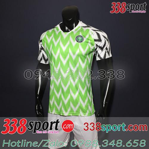 Áo Đội Tuyển Nigeria Xanh Chuối 2019 Sân Nhà