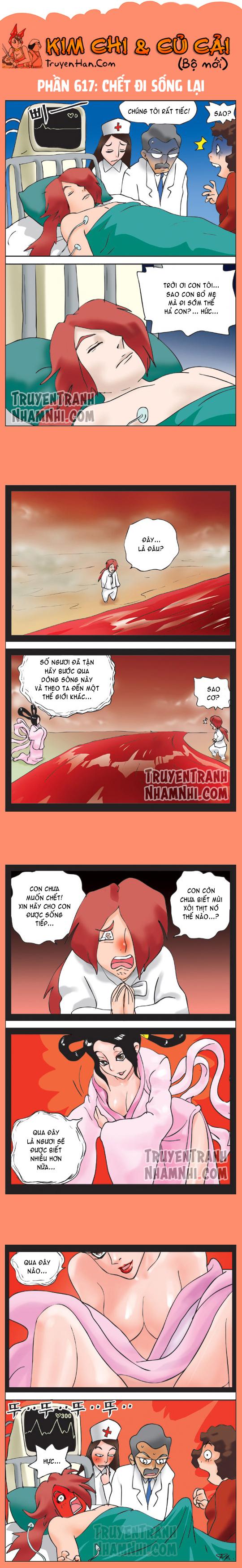 Kim Chi Và Củ Cải phần 617: Chết đi sống lại