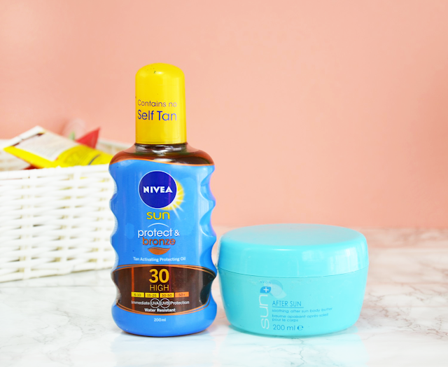 Empties #12 Nivea Sunscreen Avon Body Butter