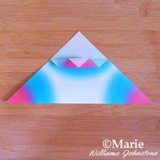 Fancy folding origami paper