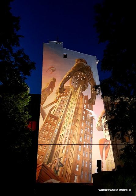 warszawskie murale graffiti Wola