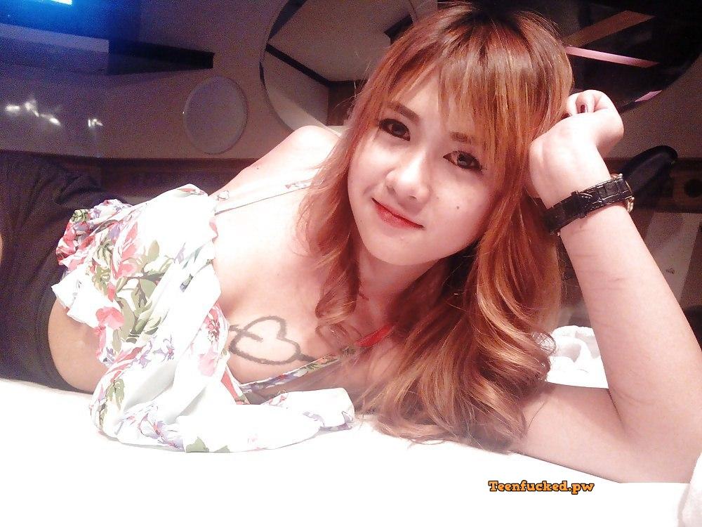 bi btLUzZh8 wm - Beautiful Thai girl cute big tits selfie 2020