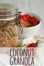 coconut granola rezept