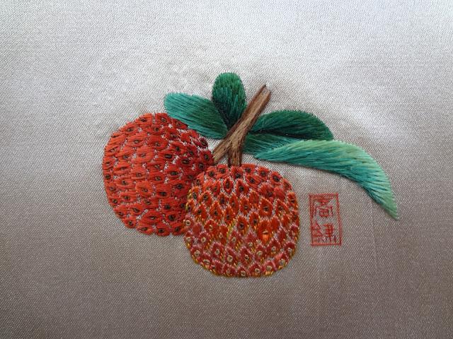 Bordado chino de estilo Guang