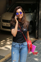 Cute Esha Gupta in Black T Shirt and Denim Jeans ~  Exclusive Galleries 006.jpg