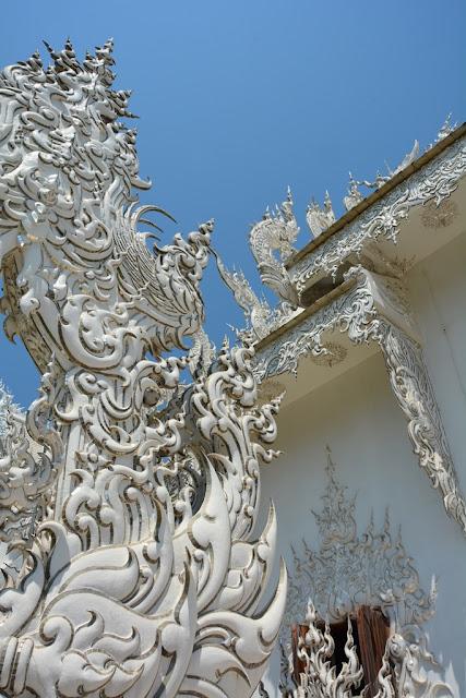 White Temple Chiang Rai macro