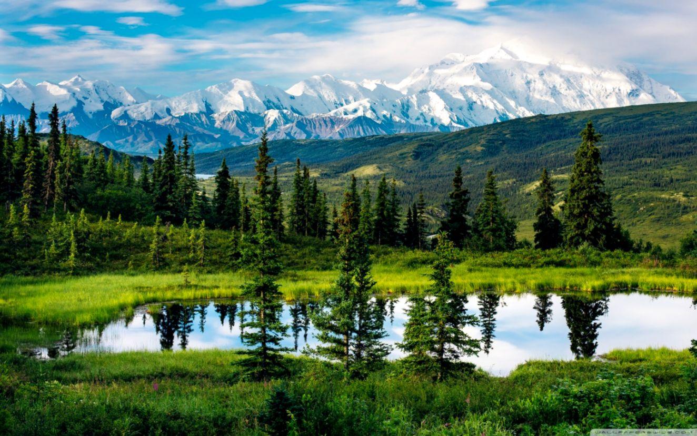 Alaska Range Beautiful Mountain Landscape ❤ 4K HD Desktop