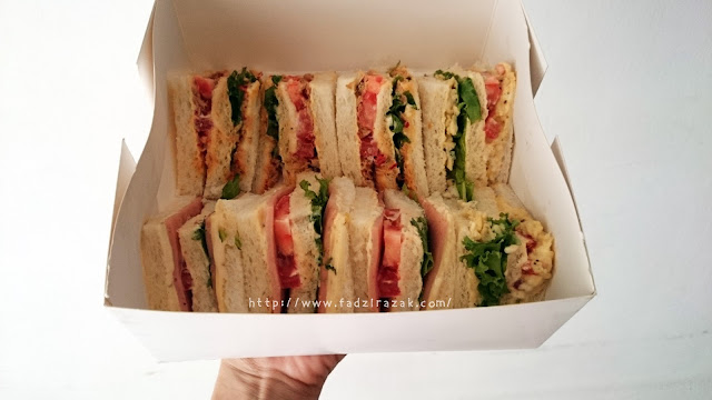 Mix Boom Delivery Sandwich