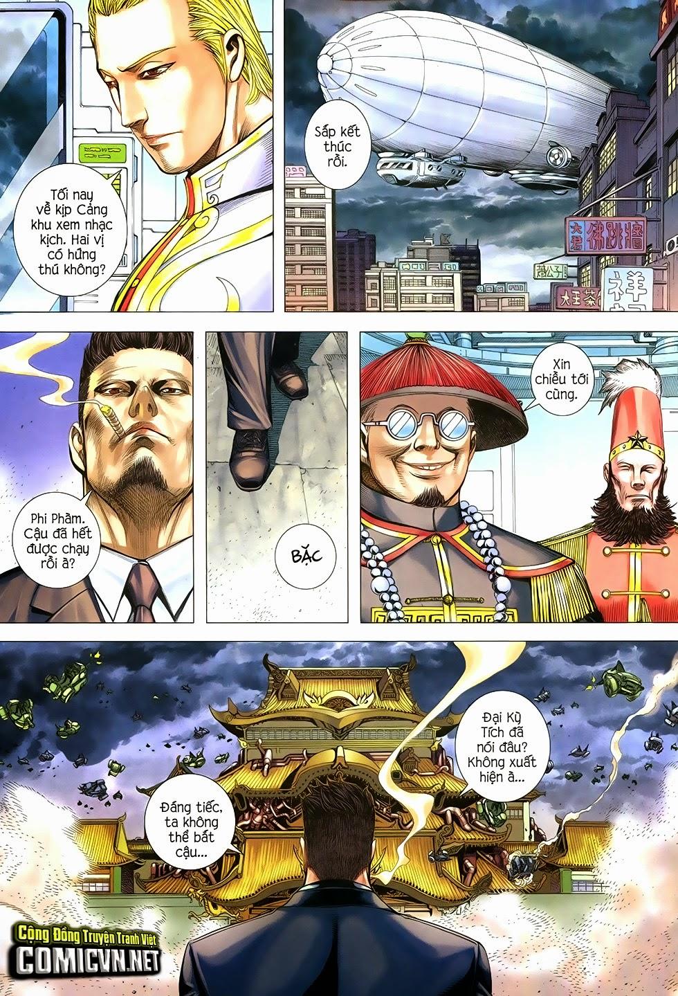 Đại Quân Phiệt chap 29 trang 18