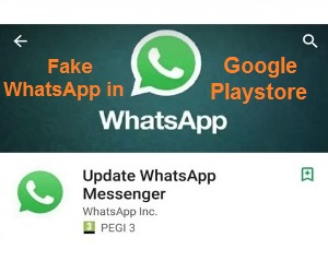 Discovery the Presence of Fake WhatsApp in Google Playstore