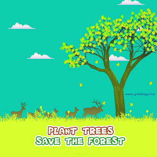 plant trees save the forest image free download