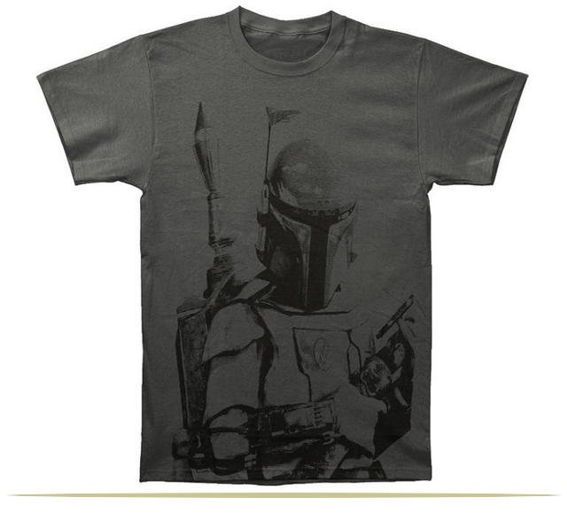 Star Wars Boba Fett Sarlacc Bait Mens T-Shirt  |  www.9CoolThings.com