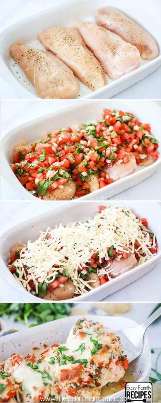 Salsa Fresca Chicken #SALSA #FRESCA #CHICKEN #MAINCOAST #LOWCARB