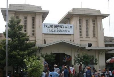 PASAR BERINGHARJO WISATA INDONESIA