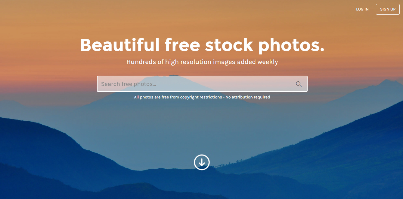 StockSnap Screenshot