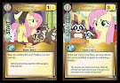 My Little Pony Fluttershy, Nurturing Nature Defenders of Equestria CCG Card