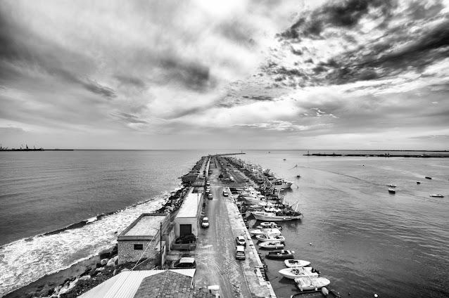 Vista dal Faro di Manfredonia