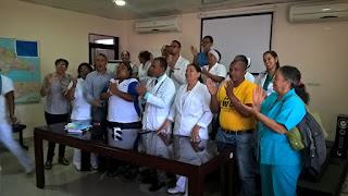 C.M.D Filial San Juan Afirma: Hasta que no haya equipos nuevos no se integraran a las nuevas áreas Remodeladas, dicen son múltiples sus demandas.