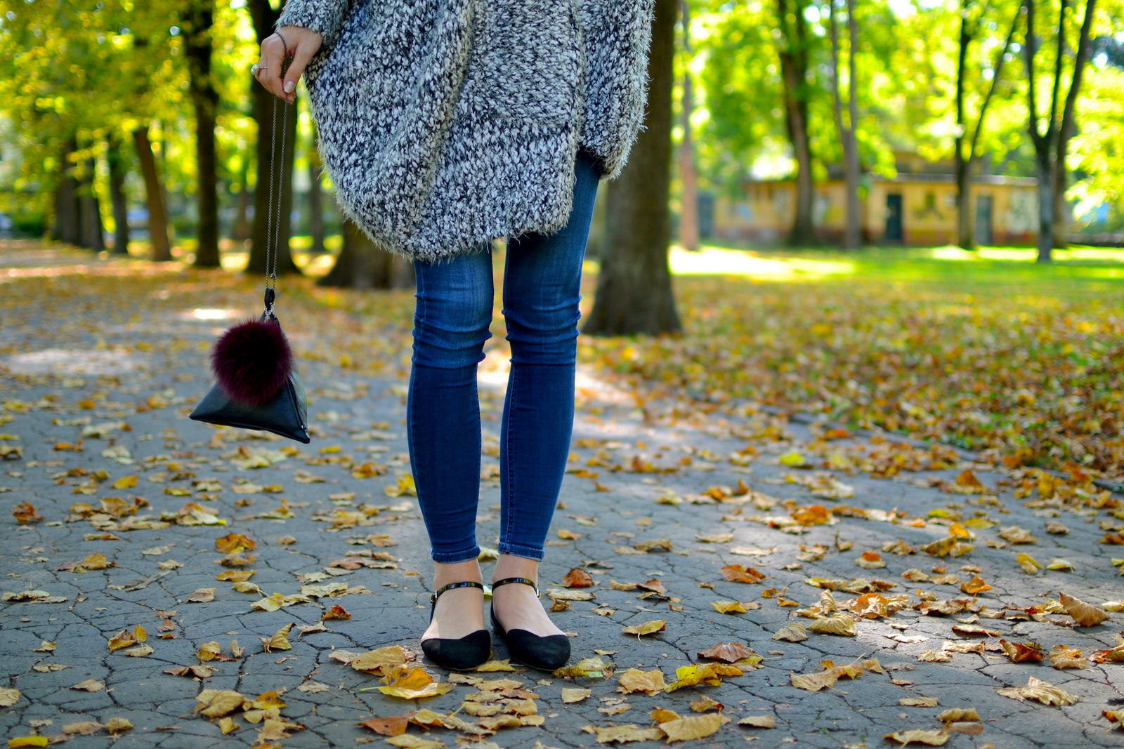 veľký jesenný sveter a oversize tričko  // black oversize  t-shirt