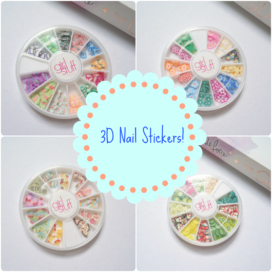 3D Nail Stickers From Girl Stuff!!!